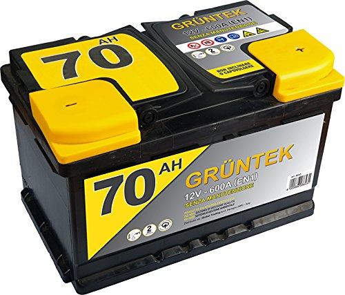 Gruntek L3B Batteria Auto 70AH 600A 12V