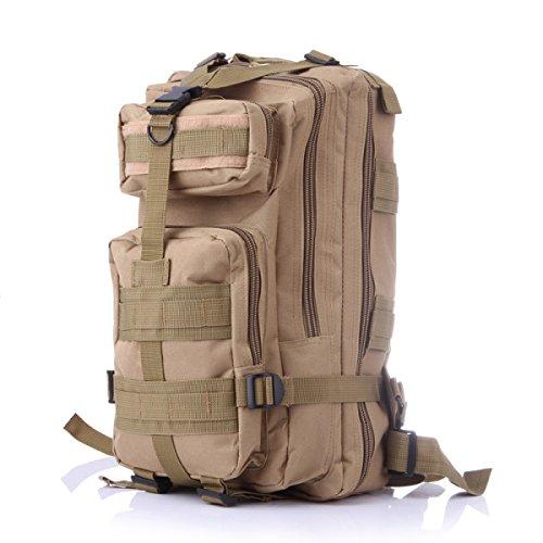 Outdoor Tarnung Fans Militärrucksack Wandern Tasche Schulter 3P Taktischer Rucksack Bergsteigen B