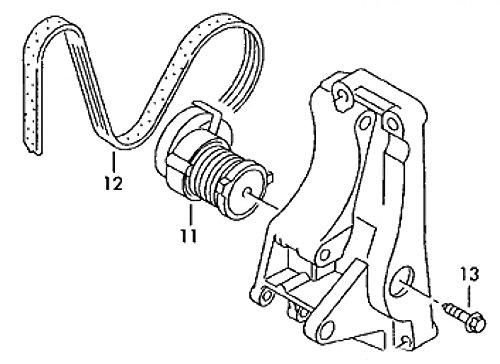 Volkswagen 036145933H (12 - Keilrippenriemen mit Klima)