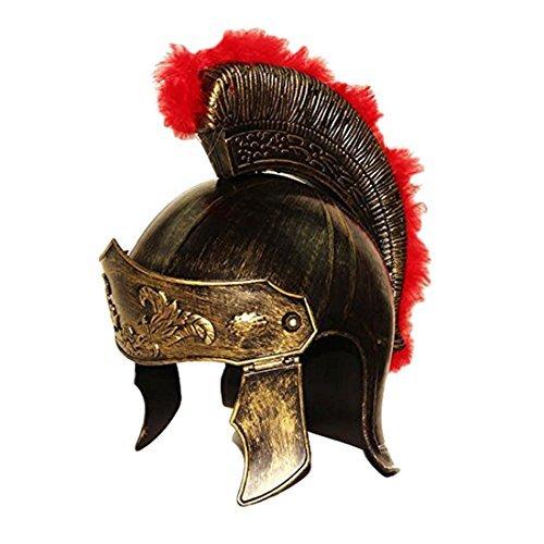 Toy Cubby Realistische römischer Soldat Helm Gladiator Legion Gold königlichen Hut Ritter - Kostüm.