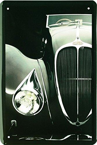 delahaye-oldtimer-auto-car-20-x-30-cm-cartel-de-chapa-1573
