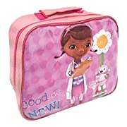 Perfect Doc McStuffin back to school lunch accessory;Lunch Bag size is approximately 25cm x 20cm x 9cm;Ideal for the new school term;Sandwich Box, Bottles and other accessories also available;Officially licensed