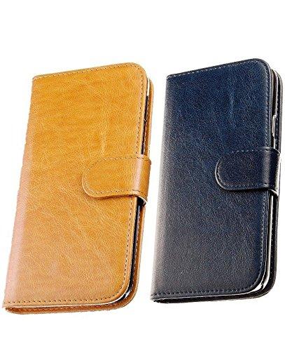 JZK® 2 x Custodia cover case in pelle per iphone 6...