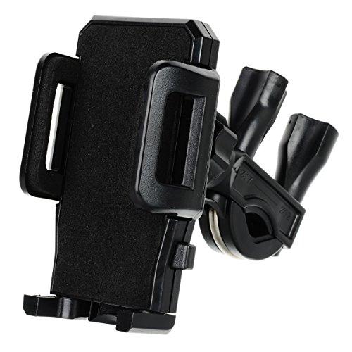 multifonction Vélo support plastique pour téléphone portable + Tablette PC–Noir SYMTOP