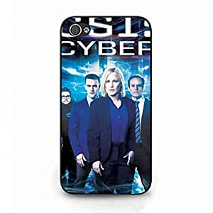 CSI Cyber Apple Iphone 4(S] Case, CSI: Cyber Logo Phone Shell Back Cover,Pc Hard Shell Skin Cover Case T8X6KU