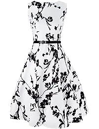 iPretty Robes Vintage 1950's Audrey Hepburn robe de soirée cocktail, bal style années 50 Rockabilly Swing Robe Femmes