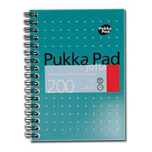 pukka-pad-a4-couverture-bloc-notes-metallique-200-pages-ligne-marge-stylo