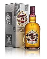 Chivas Regal 12 Jahre Premium Blended Scotch Whisky - 12 Jahre gereifter Whisky aus schottischen Malt & Grain Whiskys aus der Region Speyside - 1 x 0,7 L