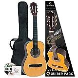 Encore ENC12OFT Kit guitare classique 1/2 Bois naturel