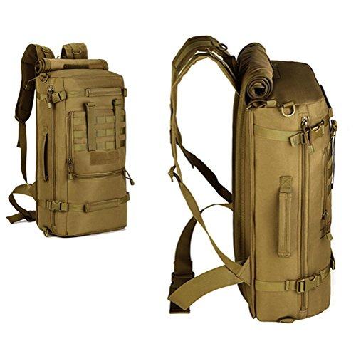 Zaino multifunzione 900D Camouflage stile borsa Spalle impermeabili Tattiche Zaino Outdoor Leisure , ArmyGreen ArmyGreen
