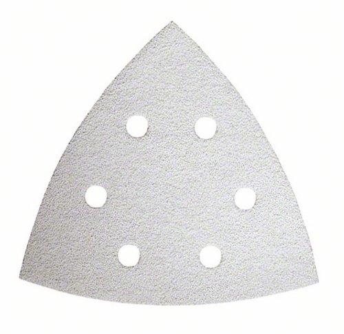 Bosch DIY 10tlg. Schleifblatt-Set (Holz und Farbe für Multifunktionswerkzeuge Starlock) Körnung 60/80/120/180/240