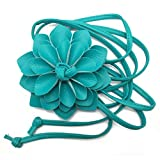 China Palaeowind Flowers Waist Tassel Braid Decoration Elegant Fine Female Waist Lengthen Belt 135-175cm