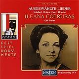 Cotrubas : Ausgewahlte Lieder / Live 1978