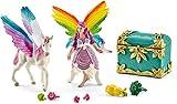 Schleich 41440 - Regenbogenelfe Lis mit Pegasus Fohlen