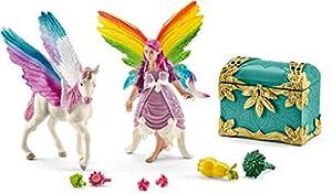 Schleich - Elfa arcoíris lis y Potro Pegaso (41440)