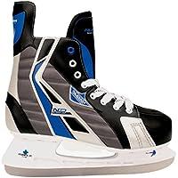 Nijdam Herren Eishockeyschlittschuhe Hardboot
