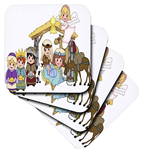 3drose-cute-nativity-with-three-wise-men-and-angel-illustration-soft-coasters-set-of-4-cst-217091-1