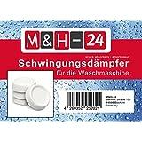 M&H-24 Schwingungsdämpfer Vibrationsdämpfer Antivibrationsmatte - für Waschmaschine & Trockner