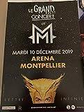 AFFICHE / M/Matthieu CHEDID - Grand Petit Concert - 40x60cm Poster
