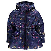 Character Padded Coat Infant Junior Girls Outerwear Jacket Raincoat