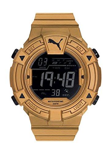 Puma Reloj Digital para Hombre de Cuarzo con Correa en Plástico PU911381005
