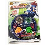 ProductFox 4 Metal Beyblades With Led Lights And 4 Launchers 1 Big Beyblade Stadium And 2 Spring Action Launcher - Multi Color