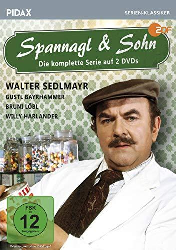 Spannagl & Sohn / Die komplette 13-teilige Kultserie mit Starbesetzung (Pidax Serien-Klassiker) [2 DVDs]