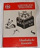 Programmheft Das Dekameronical. Spielzeit 1980 / 81 Heft 12