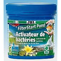 JBL Filterstart Pond pour Aquariophilie Blanc 250 g