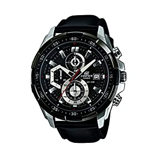 Casio Edifice Chronograph Black Dial Men's Watch – EFR-539L-1AVUDF (EX193)