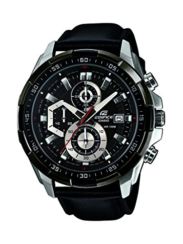 Casio Edifice Chronograph Black Dial Men's Watch-EFR-539L-1AVUDF (EX193)
