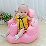 Comaie® Sedile Baby Safe step a imparare a gonfiabile neonati e giocattoli da bagno barca multifunzionale di sicurezza del bambino da divano BB portatile sgabello per bambini