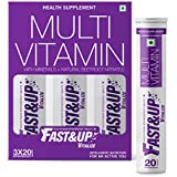 [Sponsored]Fast&Up Vitalize - Multi Vitamins, Effervescent Multi Vitamin Supplements For Men And Women