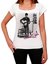 Bob Dylan : T-shirt imprimé photo de star 7015180