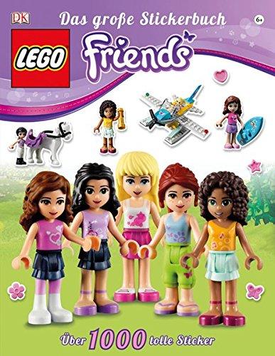 Preisvergleich Produktbild LEGO® Friends Das große Stickerbuch: Über 1000 tolle Sticker
