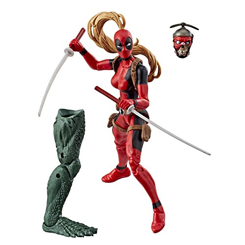 Marvel Legends Series: Deadpool - Dame Deadpool 15cm Action Figur