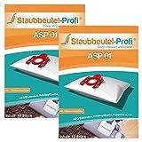 20 Staubsaugerbeutel geeignet für AEG-Electrolux 61EKW01 von Staubbeutel-Profi®