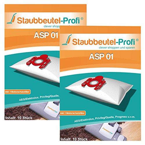 20 Staubsaugerbeutel geeignet für AEG CE VX3-1-WR-A von Staubbeutel-Profi®
