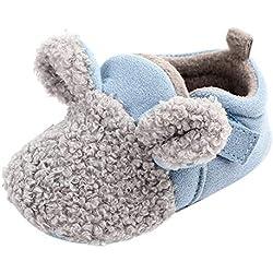 Primeros Pasos para Bebé ,❤️ Amlaiworld Zapatos recién Nacidos de Suela Blanda de Invierno para bebés recién Nacidos Botas Invierno Zapatillas Zapatitos Bebés