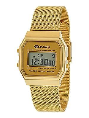 Reloj Marea Mujer B35313/7 Digital Retro Dorado