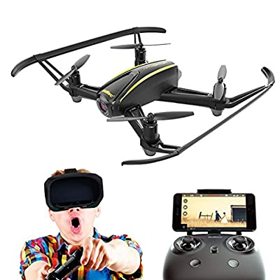 Navigator / U31W WIFI FPV Quadcopter Drone with 720P HD Camera - 120 Degree Wide-Angle, Altitude Hold, Headless Mode, One Button Take Off / Landing /Emergency Stop All Included for Beginners.