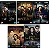 The Complete Twilight Movies 1 - 5 DVD Collection: Twilight / New Moon / Eclipse / Breaking Dawn Part 1 / Breaking Dawn Part 2
