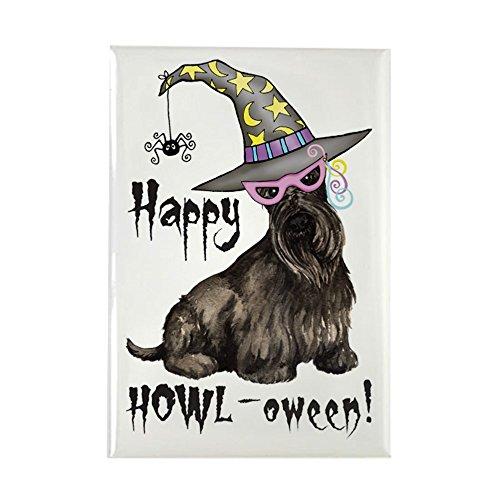 oween Scottie–Rechteck Magnet, 5,1x 7,6cm Kühlschrank Magnet (Trick Or Treat Lustige Hunde Halloween)