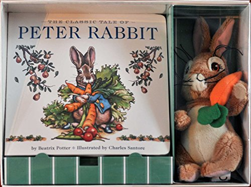 The Peter Rabbit Gift Set: Including a Classic Board Book and Peter Rabbit Plush por Beatrix Potter
