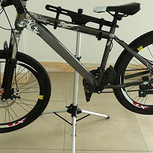 ALTERDJ Universal Outdoor Sport Aluminium Bike Fahrrad Reparatur Ständer Langlebig Wartung Mechaniker Reparatur Ständer Halter -
