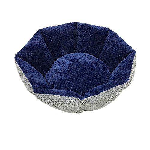 Nest octogonal Cat Nest Dog Petit sac, Lavable Four Seasons Nest Sleeping, Trois couleurs sont disponibles ( Couleur : A )