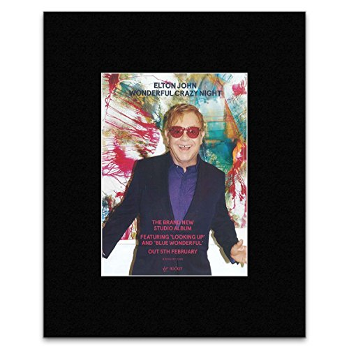 elton-john-wonderful-crazy-night-matted-mini-poster-405x305cm