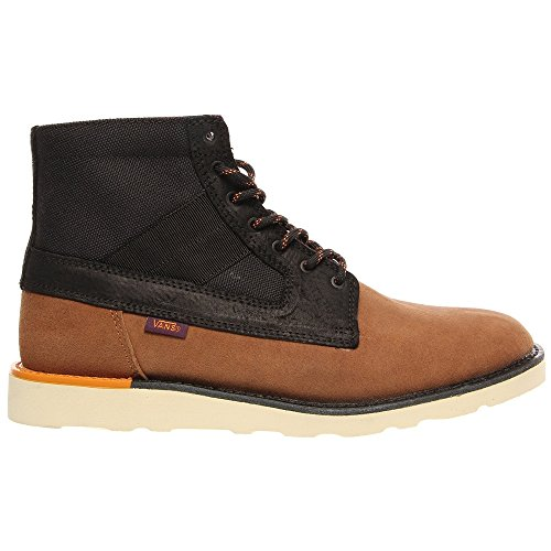 Vans Herren Sneaker BRETON BOOT tech brown black