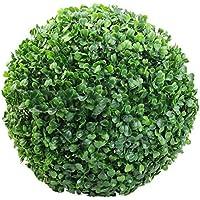 surenhap bola de boj artificial para exterior o interior, jardín, decoración interior, bodas y eventos especiales, 30 cm