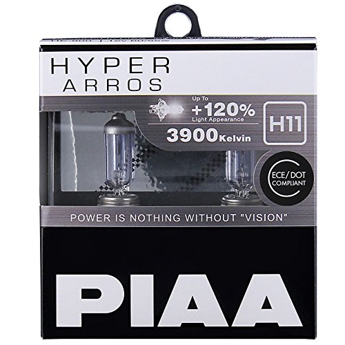 Preisvergleich Produktbild PIAA Hyper Arros H11 Auto-Glühlampen +120% (Doppelt Pack) HE906